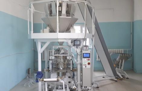 Упаковочный комплекс для расфасовки сыпучей продукции