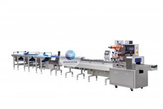 Автоматическая горизонтальная упаковочная линия для конфет