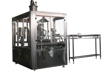 Упаковочный автомат в пакеты типа «дой пак» с дозированием через штуцер