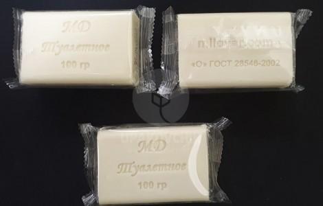 Упаковка мыла - PR-250 c верхней подачей пленкки