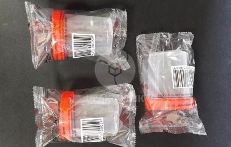 Упаковки полимерных контейнеров
