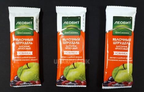 Упаковка фруктовых батончиков