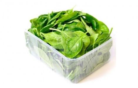 Упаковочная машина для упаковки листового шпината