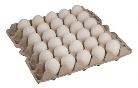 Термоусадочная машина для упаковки лотков с куриными яйцами