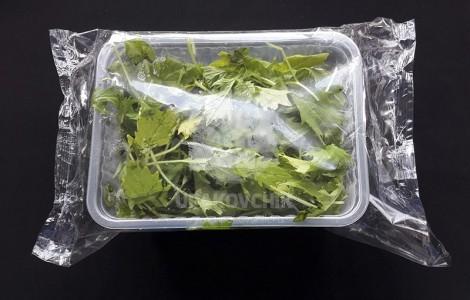 Оборудование для упаковки свежей зелени