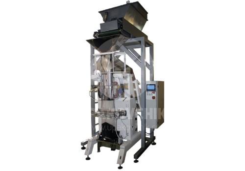 Оборудование для фасовки сыпучих продуктов с объемом дозы до 30 литров